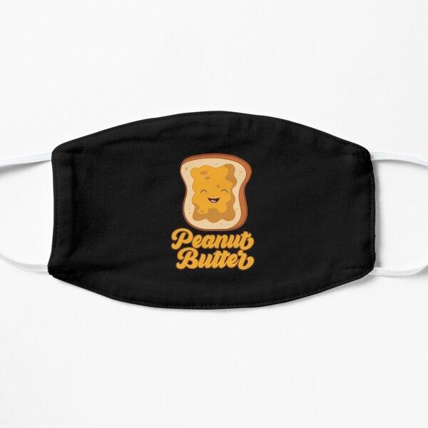 Funny Peanut Butter Sandwich Peanut Butter Flat Mask