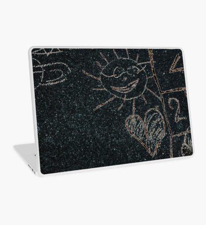 Child Drawing (Call Sun In Street) Laptop Skin
