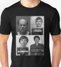 Serial Killers Mugshot Unisex T-Shirt