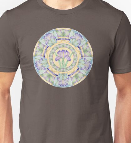 Iris Nouveau Watercolour Floral T-Shirt