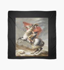 Napoleon Crossing The Alps Shirt Scarf