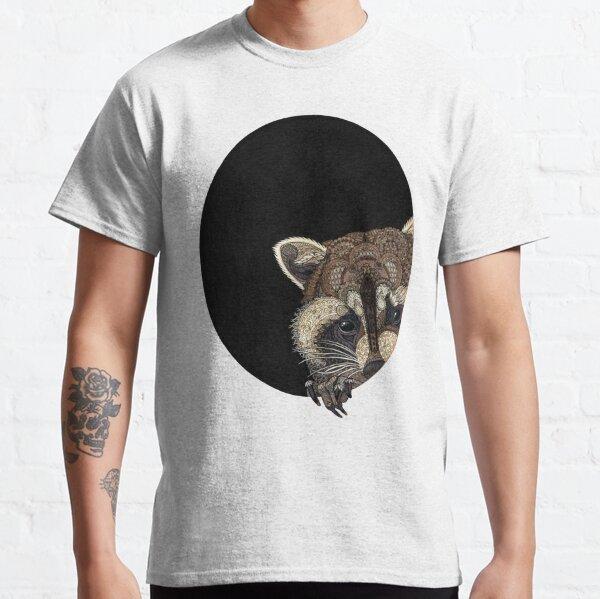 Socially Anxious Raccoon Classic T-Shirt