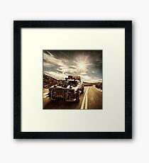 Desert Messiah Framed Print