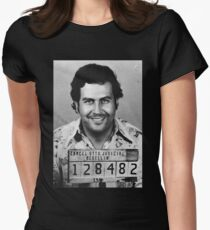 Pablo Escobar Women's Fitted T-Shirt