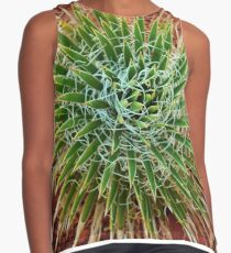 Desert Green From Red Earth Contrast Tank
