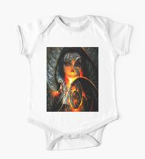 Abstract woman Kids Clothes
