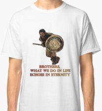 Camiseta clásica Cita máxima Gladiador homenaje