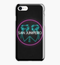 San Junipero Logo iPhone Case/Skin