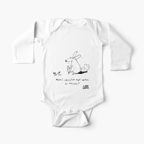 Little Lunch: The Joke Competition Long Sleeve Baby One-Piece