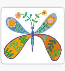 Blooming Butterfly Sticker
