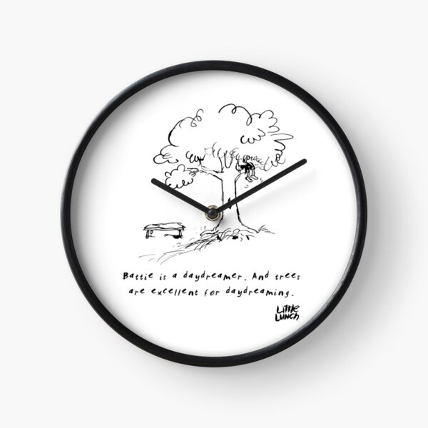 Little Lunch: The Old Climbing Tree Clock