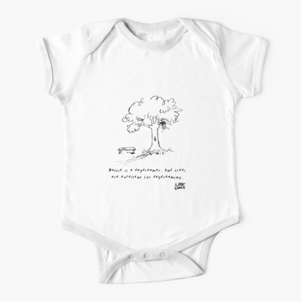 Little Lunch: The Old Climbing Tree Short Sleeve Baby One-Piece