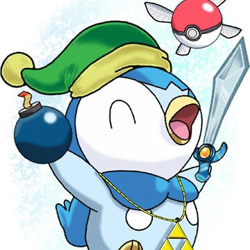 Pokemon Link Piplup by Mochico27