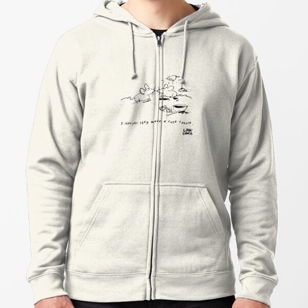 Little Lunch: The Relationship Zipped Hoodie