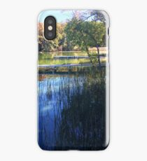 Fall in Rice Lake Wisconsin iPhone Case