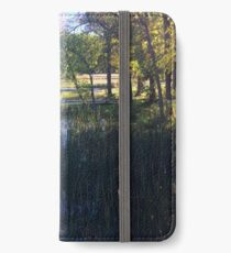 Fall in Rice Lake Wisconsin iPhone Wallet/Case/Skin