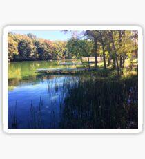 Fall in Rice Lake Wisconsin Sticker