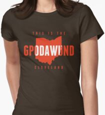 GPODAWUND State of Mind (Orange) Women's Fitted T-Shirt