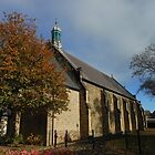 All Saints Church on All Saints Day by MidnightMelody