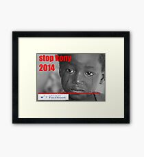 stop koney 2014 Framed Print