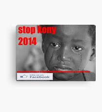 stop koney 2014 Canvas Print