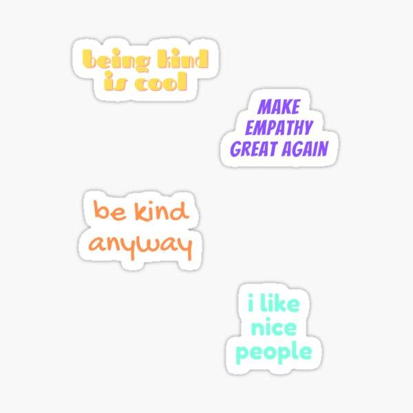 Positivity Sticker Pack World Kindness Day 2021 Sticker