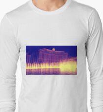 Bellagio Fountain Long Sleeve T-Shirt