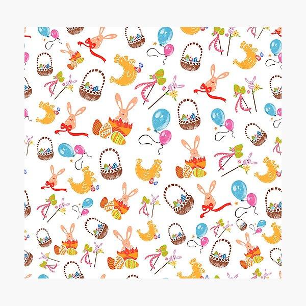 Easter celebration pattern Photographic Print