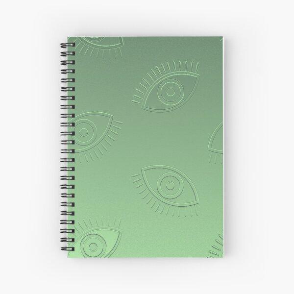 Greek Eye Spiral Notebook