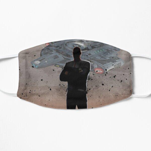 Sisko from Star Trek Deep Space Nine Flat Mask