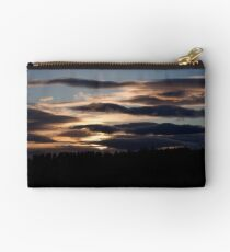 Sunset over the speyside hills Studio Pouch