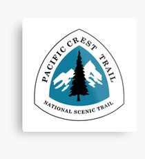 Pacific Crest National Scenic Trail Sign, USA Metal Print
