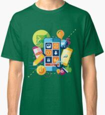 Mobile marketing Classic T-Shirt