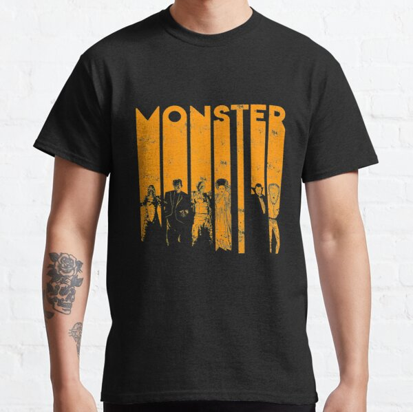 Universal Monsters Letter Group Shot  Classic T-Shirt