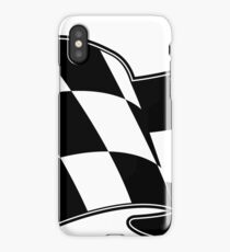 Checkered flag iPhone Case/Skin