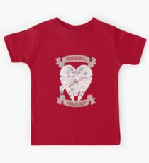 Rebel Heart - red Kids Clothes