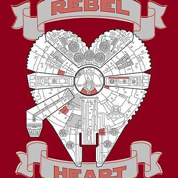 Rebel Heart - red by cepheart