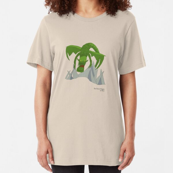The Forest Dragon Slim Fit T-Shirt