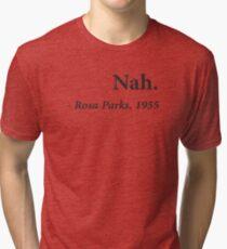 Nah Rosa Parks Citation T-shirt chiné
