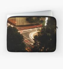 Street Lights at a busy intersection Laptop Sleeve