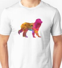 Pyrenean Mountain Dog in watercolor Unisex T-Shirt