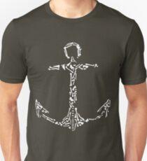 Bone Ancor Sailor Artistic Design T-Shirt