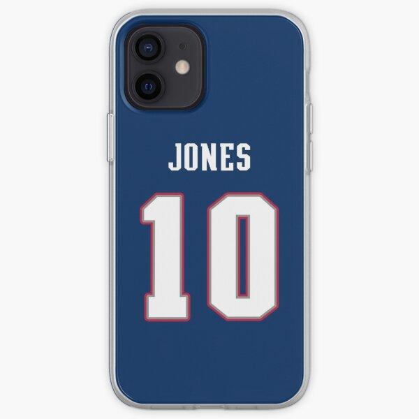 Mac Jones Jersey iPhone Soft Case