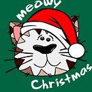 Meowy Weihnachten von George von JCDesignsUK