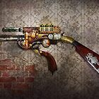 Steampunk - Gun - The sidearm by Michael Savad