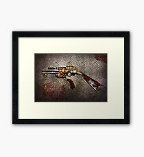 Steampunk - Gun - The sidearm Framed Print
