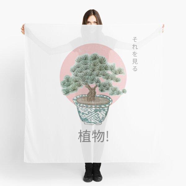 Japanese Bonsai Tree Scarf