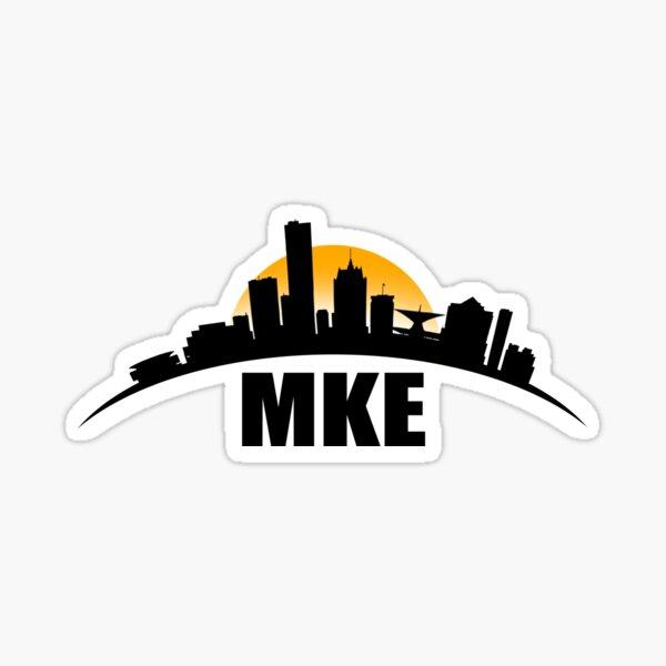 MILWAUKEE SKYLINE - MKE HOME Sticker
