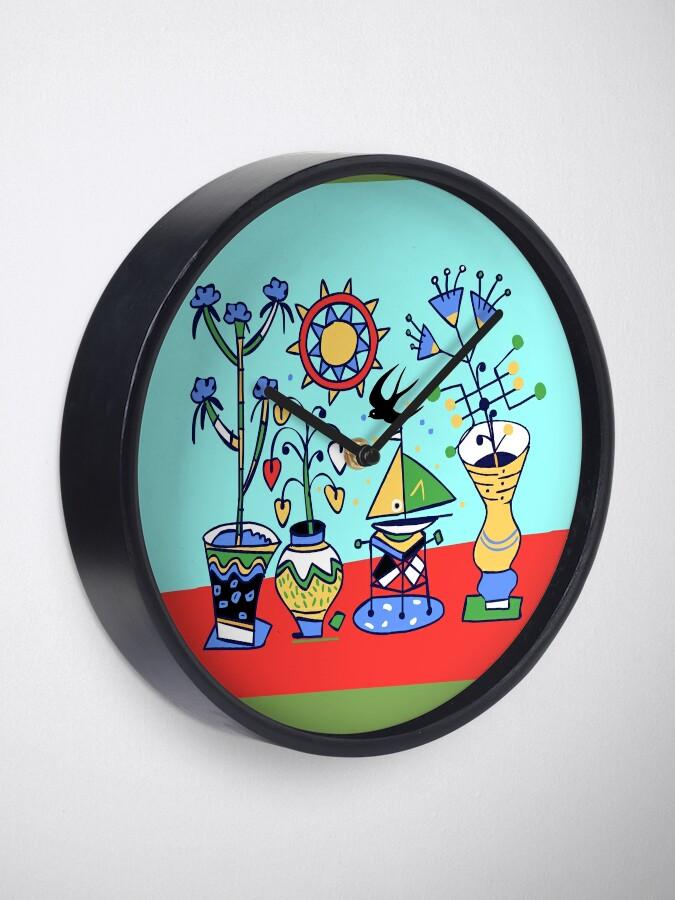 Alternative Ansicht von flower power Uhr