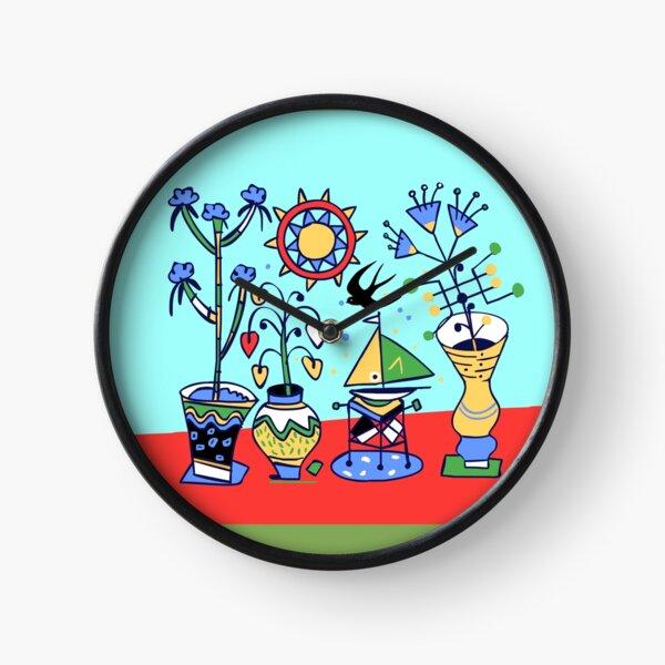 flower power Uhr